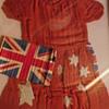 Child's Flag Dress circa WW2