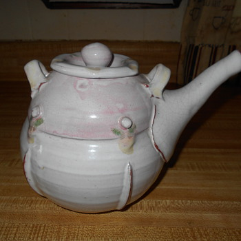 Studio Art Pottery Tea Pot Help Identify