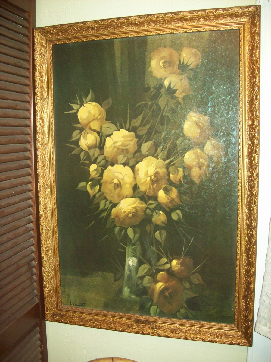 Quot Yellow Roses Quot By Thomas Renolds Lamont 1826 1898