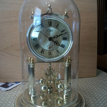Elgin Quartz Anniversary clock - Clocks