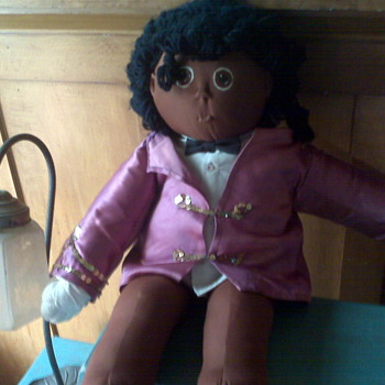 Original Michael Jackson Soft Bodied Doll - 1985 - Music