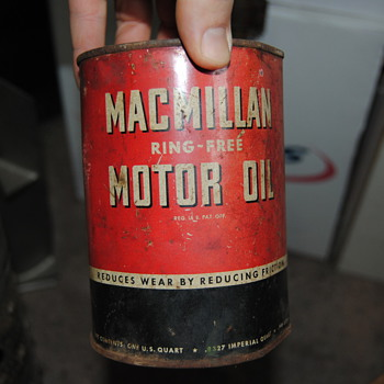 MacMillan Ring-Free Motor Oil - Petroliana
