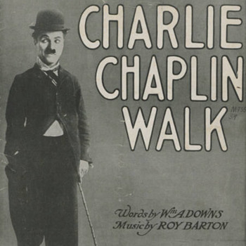 "1915 SHEET MUSIC, ""CHARLIE CHAPLIN WALK""  CHARLIE ON COVER IN FAMOUS POSE. - Music Memorabilia"