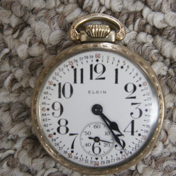 Elgin Train  - Pocket Watches