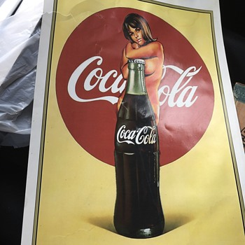 Risqué coke add - Advertising
