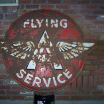 62&quot; Flying A Service sign