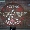 "62"" Flying A Service sign"