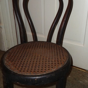 child's chair circa 1900