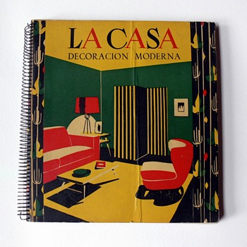 """La casa. Decoración moderna"" book, 1952"