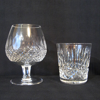 WATERFORD CRYSTAL BRANDY AND LOW BALL