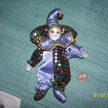 pocelian clown  - Dolls
