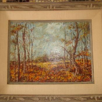 William Paterson Ewen Original Oil painting - Visual Art