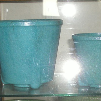 Flowerpots without stands - Art Glass