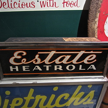 Estate Heatrola Neon - Advertising