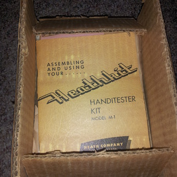 Original Heathkit TC-2 Tube tester and Handi tester..unassembled - Electronics