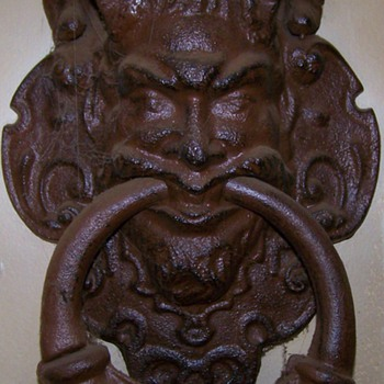 Pan Door Knocker