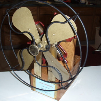 Radial Steam Powered fan