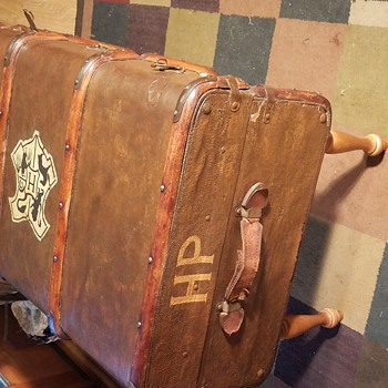 European Bentwood Trunk, Turned Harry Potter Fan Made Replica