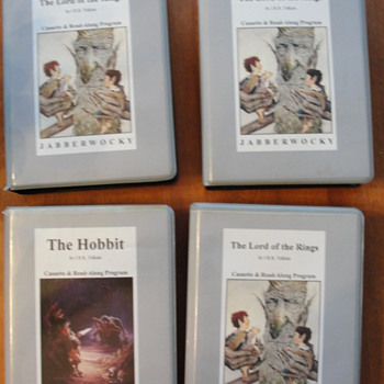 Lord of the Rings casettes