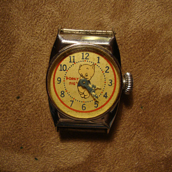 1949 Ingraham Porky Pig - Wristwatches