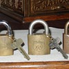 Texaco... Shell... Phillips 66...Sinclair...Standard Oil...Padlocks with Keys