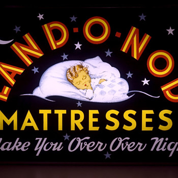 Land O Nod Light Up Sign - Advertising