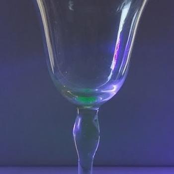 Stemmed glasses