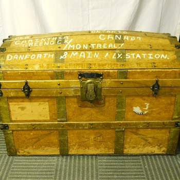 Steamer Trunk, Circa Early 1900