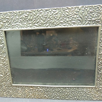 Picture Frame Marked Lenox Kirk Steiff Pewter - Visual Art