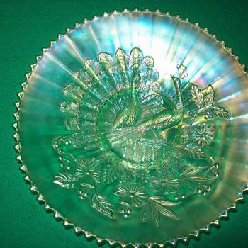 Peacook Plate - Glassware
