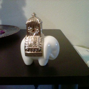 Avon Elephant Cologne Bottle