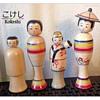 Some of my Favorite Nanbu Kokeshi by Kakuhei Sasaki