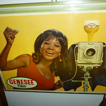 Vintage Genesee Beer Sign