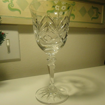 CALWAY LEAD CRYSTAL GLASS - Glassware