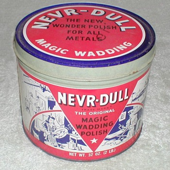 NEVR-DULL Metal Polish - Advertising