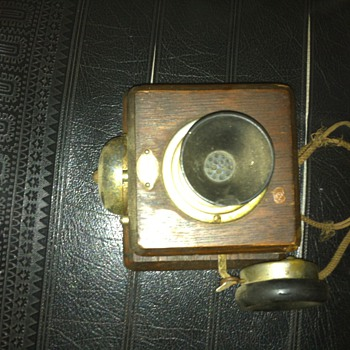 Intercom/telephone from early 1900's