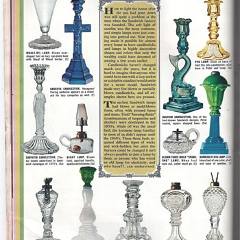 CANDELSTICKS AND LAMPS FROM WOMAN'S DAY MAGAZINE