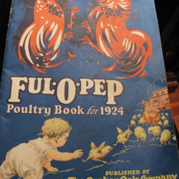 Full of Pep 1924 Poultry Book - Paper