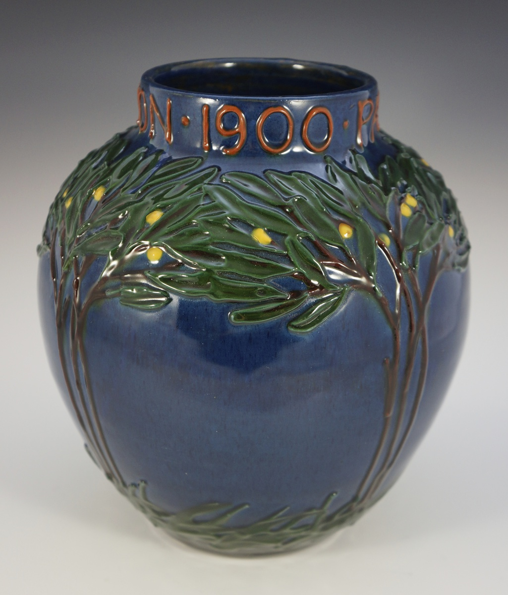 Max läuger la maison moderne paris expo 1900 vase collectors weekly
