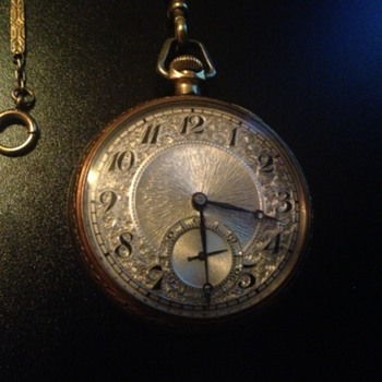 1921 Illinois 17J pocket watch