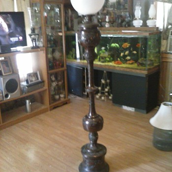 Out of the 340 oil lamps I've collected so far this is my fav. - Lamps
