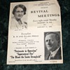 First Pentecostal Church Revival Meeting - December 28, 1941 - January 11, 1942