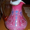Beautiful Art Glass Pitcher!!