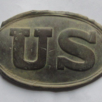 US excavated belt plate