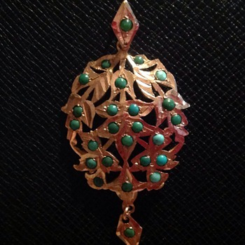 Gold pendant - Fine Jewelry