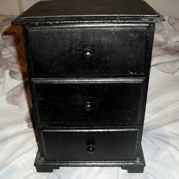 Wooden Dresser 9 1/2 X 12 inch - Furniture