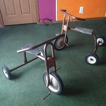 Two Old Trikes