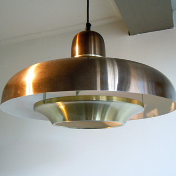 Space ship ceiling lights - Mid Century Modern