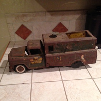 Marx Lumar Utility Service Truck  - Toys