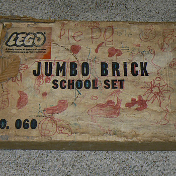 Lego Jumbo Brick School Set No. 060 - Toys